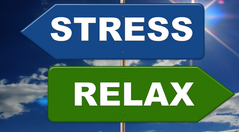 get rid of stress and relax
